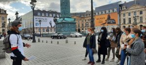 Visite guidée Paris Tourisme BTS ENC Bessières