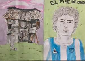 affiche maradona