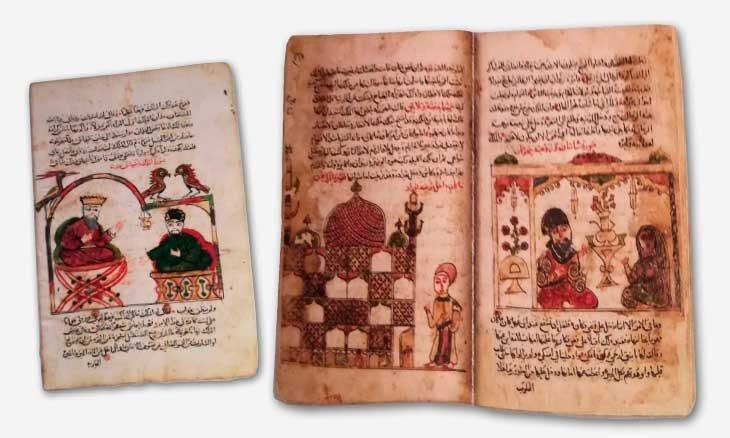 manuscrit les 1001 nuits